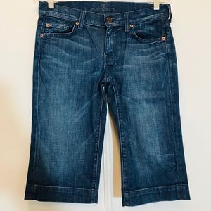 7 for Man Kind Dojo Crop Jeans Style S202381S 381S